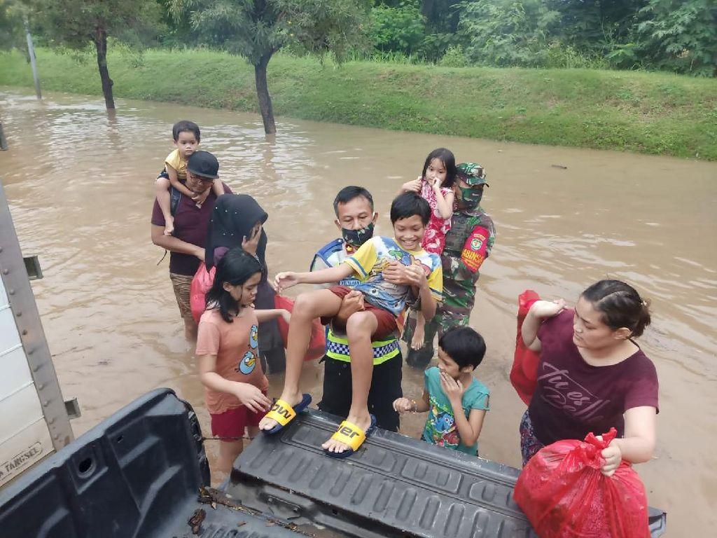 5.808 Orang Terdampak Banjir di Cilegon