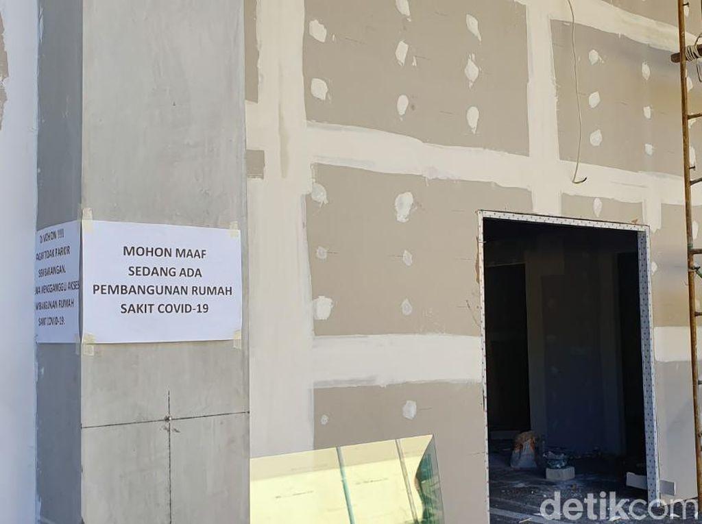 RS Bhayangkara Polda Jatim Siapkan Lahan Parkir untuk Ruang Darurat COVID-19