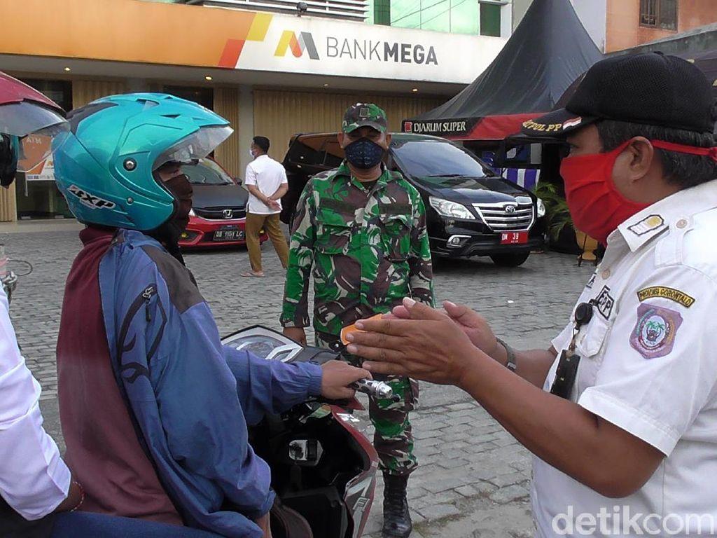 Hari 2 PSBB di Gorontalo, Walkot: Tingkat Kepatuhan Masih Sangat Kecil