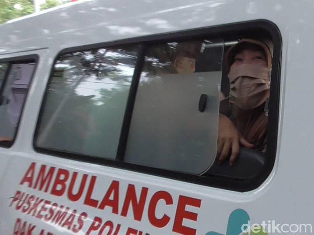 Haru! Pasien COVID-19 di Polman Mohon Doa dan Dukungan Saat Dijemput Petugas