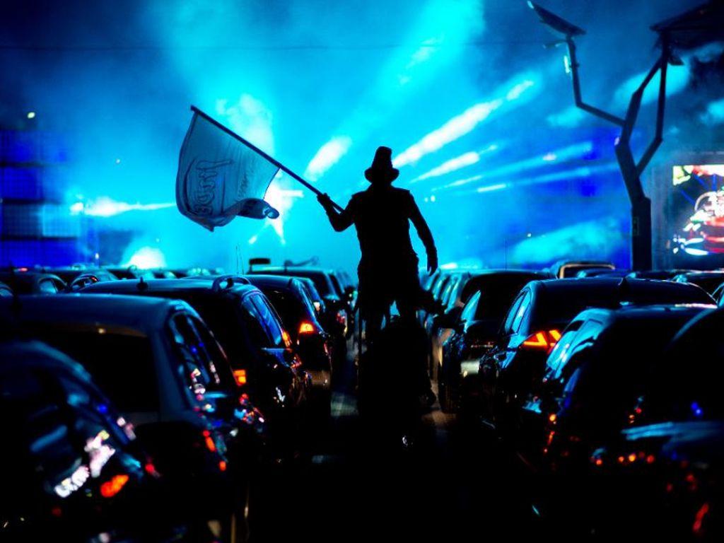 Indonesia Gelar Drive-In Konser, Nonton dari Mobil Agustus 2020