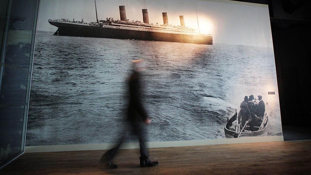 Melihat Diorama Sejarah Kapal Titanic di Irlandia