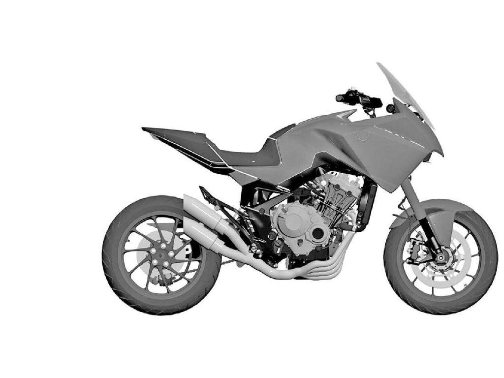 Honda Siapkan Motor 4 Silindernya