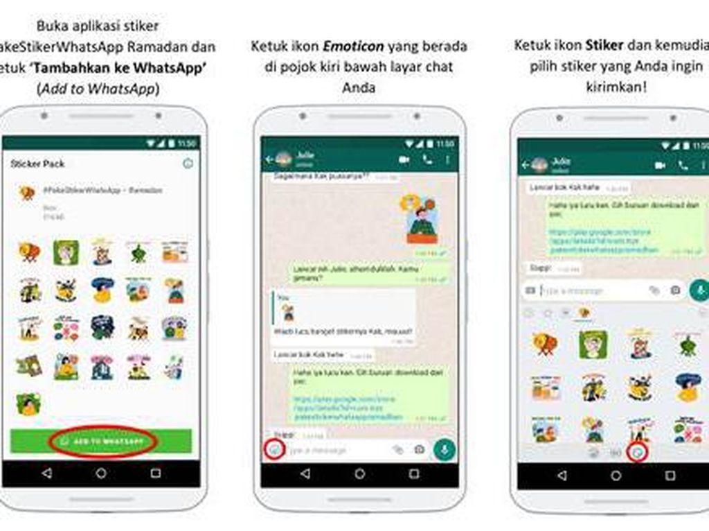 WhatsApp Rilis Koleksi Stiker Ramadhan dan Idul Fitri