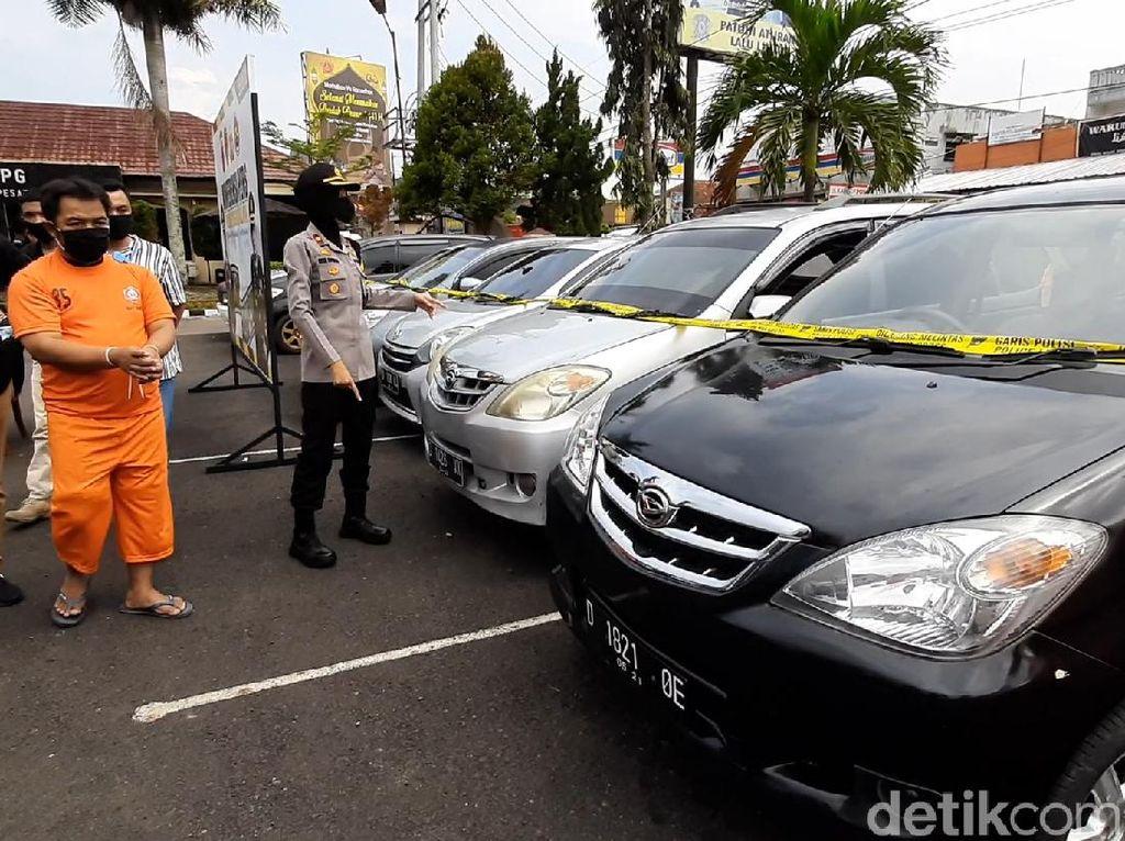 Terlilit Utang, Pria Tasikmalaya Nekat Gelapkan 7 Mobil Rental