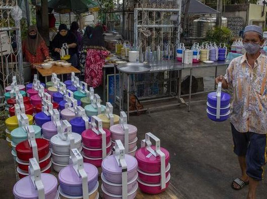 5 Masjid di Thailand hingga Skotlandia Ini Beri Makanan Gratis Selama Ramadhan