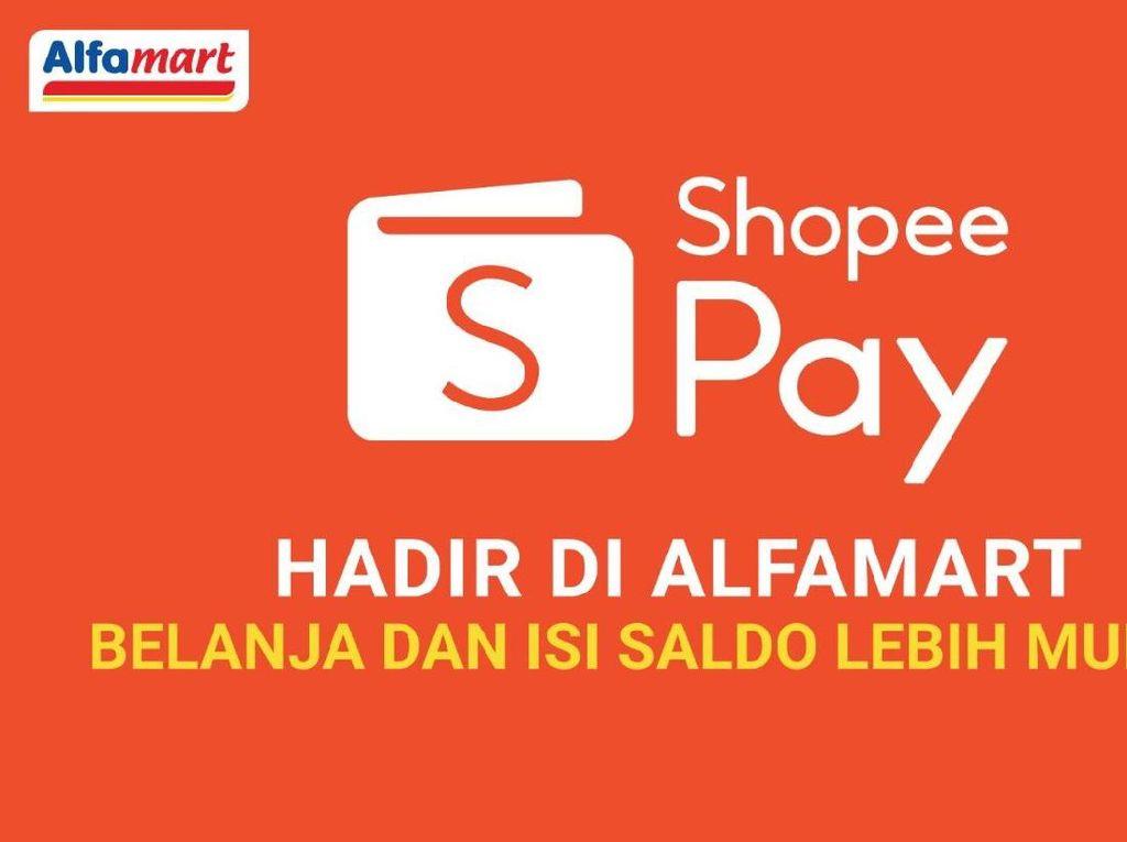 Pengguna ShopeePay Kini Bisa Belanja Secara Non Tunai di Alfamart