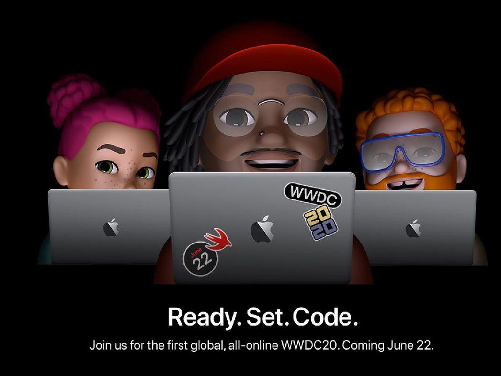 Apple Akan Gelar WWDC 2020 Secara Online pada 22 Juni