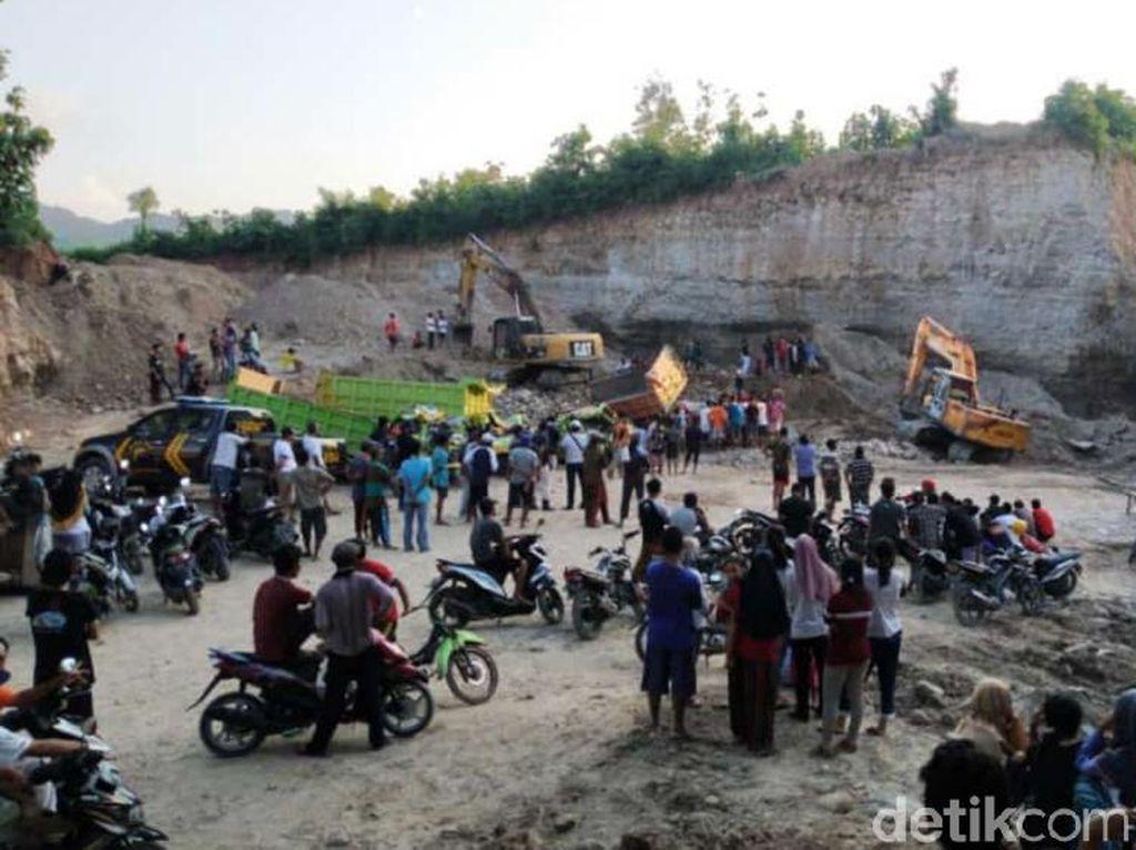 Tambang Longsor di Rembang, 2 Orang Tewas dan 4 Luka