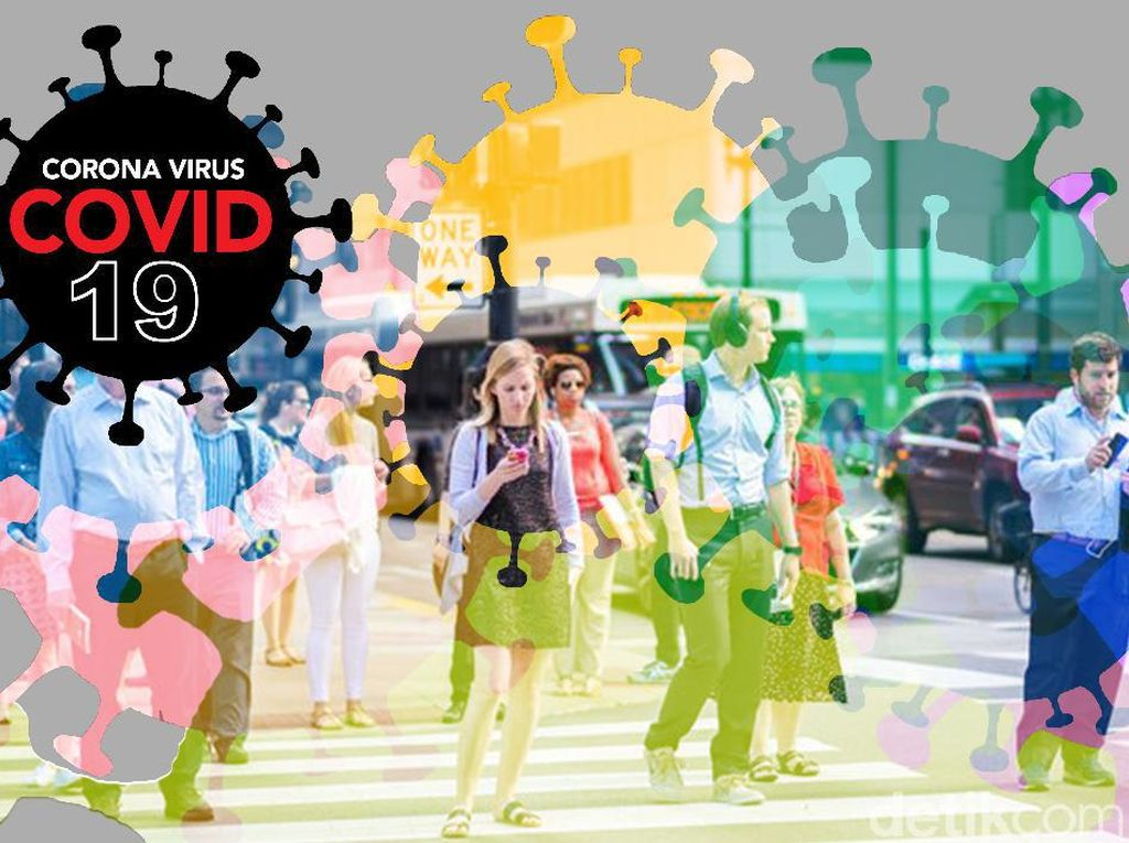 Suasana Operasi Kerumunan di Jakpus Saat Puluhan Pemuda Dites COVID