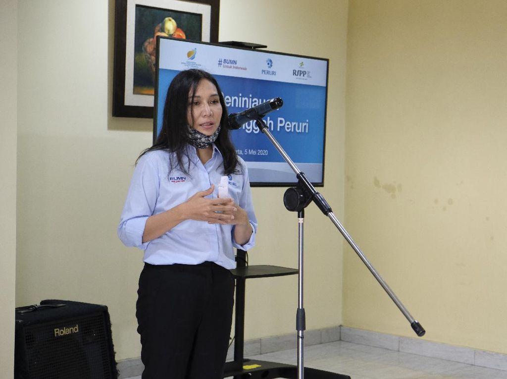 Peruri Sediakan 3 Unit Rumah Singgah untuk Tenaga Medis RSPP
