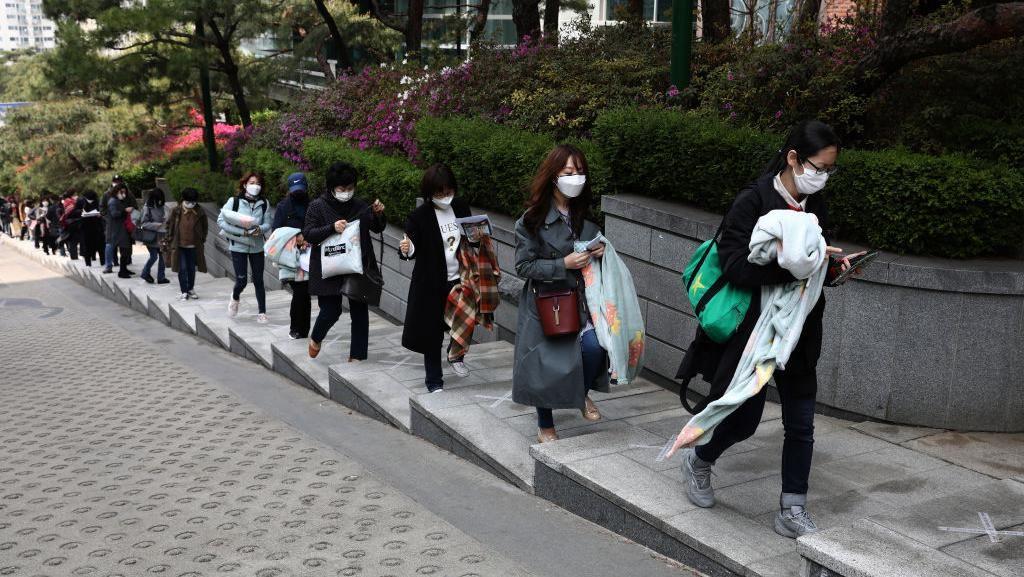 Sekolah di Korea Selatan Mulai Dibuka Pekan Depan