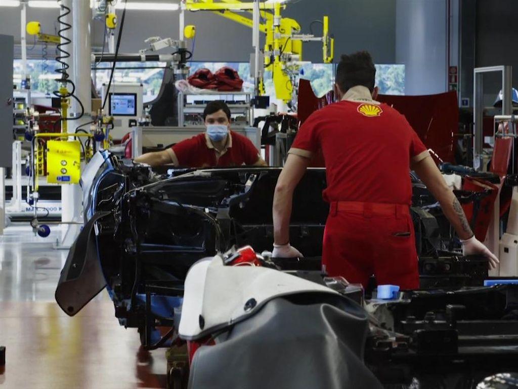 Mobil Pertama yang Lahir saat Dapur Ferrari Kembali Ngebul