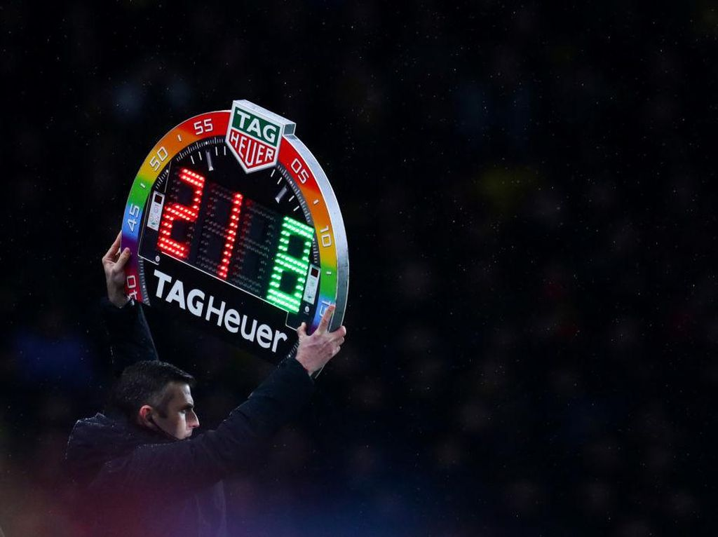 FIFA Dilaporkan Setuju Aturan Pergantian 5 Pemain
