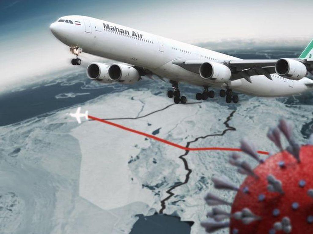 Penyebaran Virus Corona Timur Tengah Lewat Penerbangan