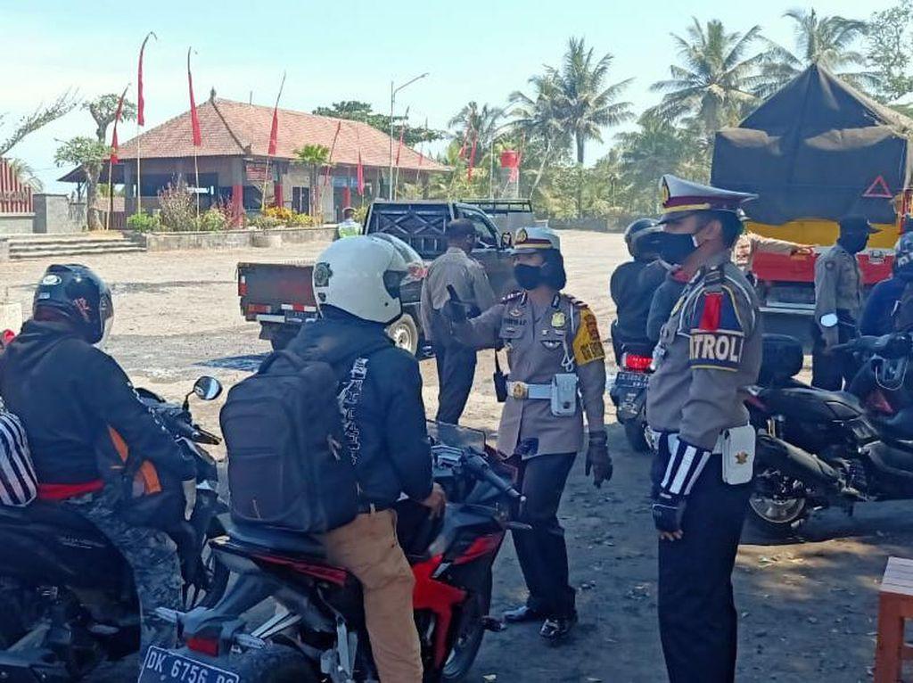 Hendak Mudik, 1.758 Orang dan 542 Kendaaran di Bali Dihalau Balik