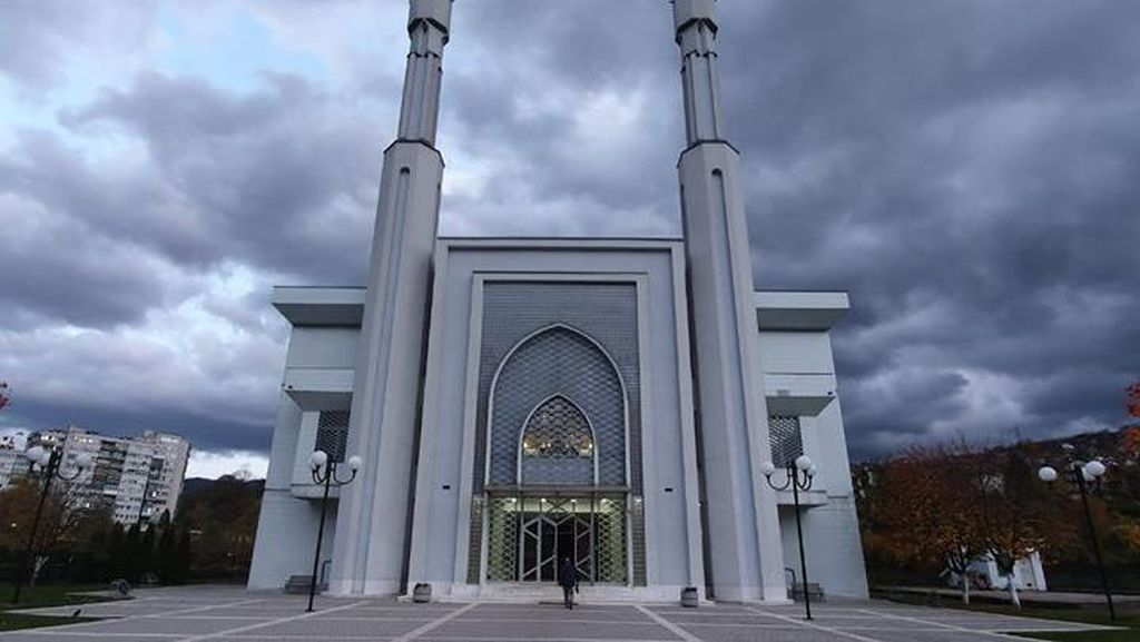 Potret Masjid Istiqlal dari Bosnia
