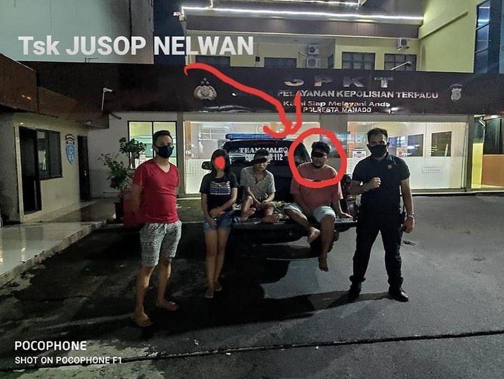 Pemuda 18 Tahun di Sulut Ditangkap karena Curanmor dan Jadi Muncikari