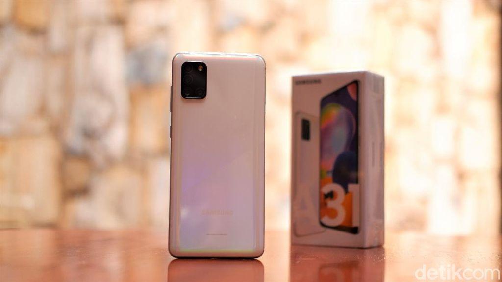 Unboxing Galaxy A31, Ponsel Menawan Harga Rp 4 Jutaan