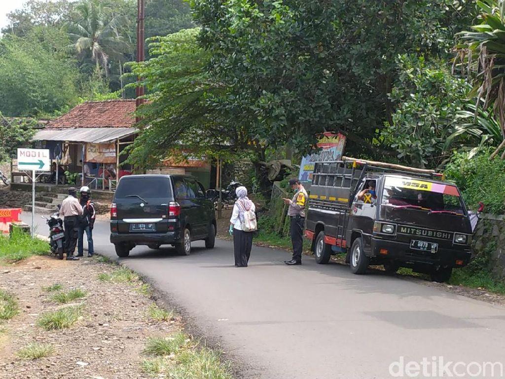PSBB Jabar Berlaku, Beberapa Kendaraan Putar Balik di Ciamis