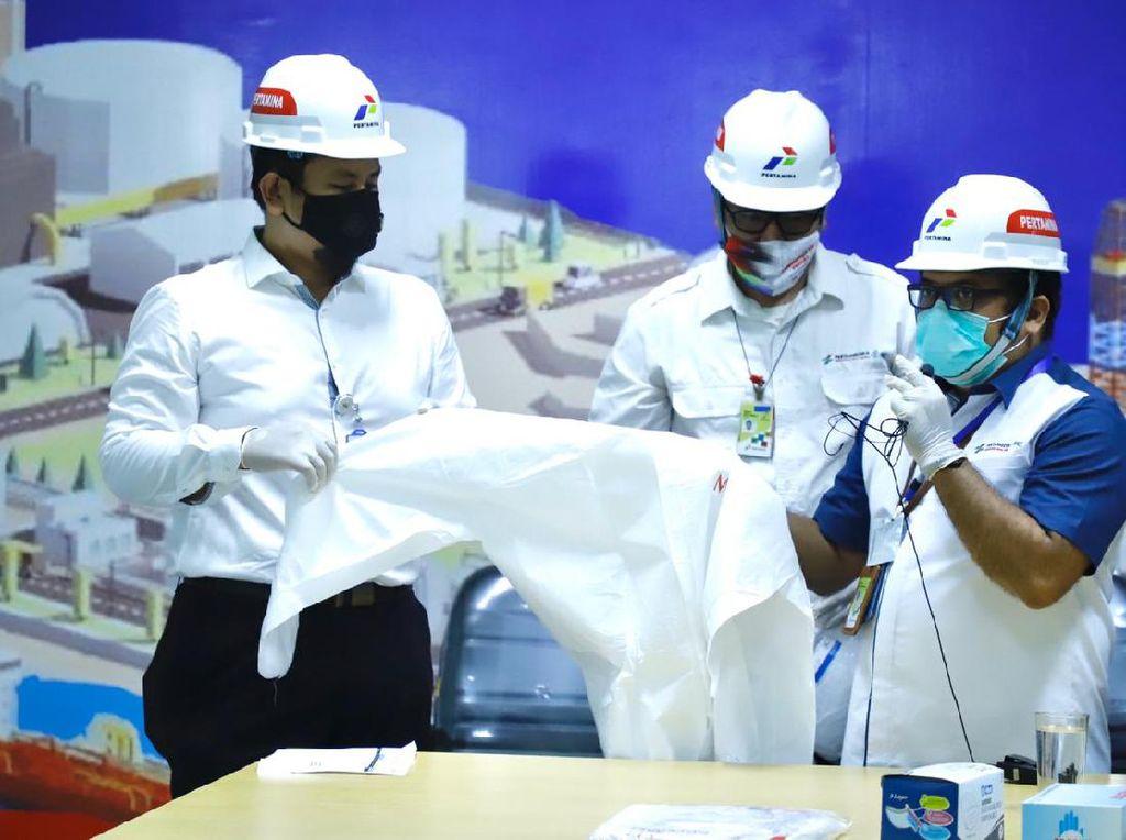 Pertamina Siap Distribusikan 185 Ribu APD ke 70 RS BUMN se-Indonesia