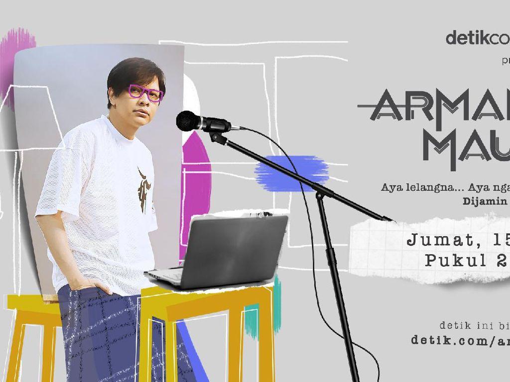 Nanti Malam Ridwan Kamil dan Ganjar Pranowo Lelang Barang Kesayangan di Armand MauKonser