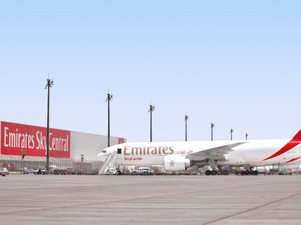 Emirates Perluas Layanan Kargo ke 60 Destinasi di Dunia