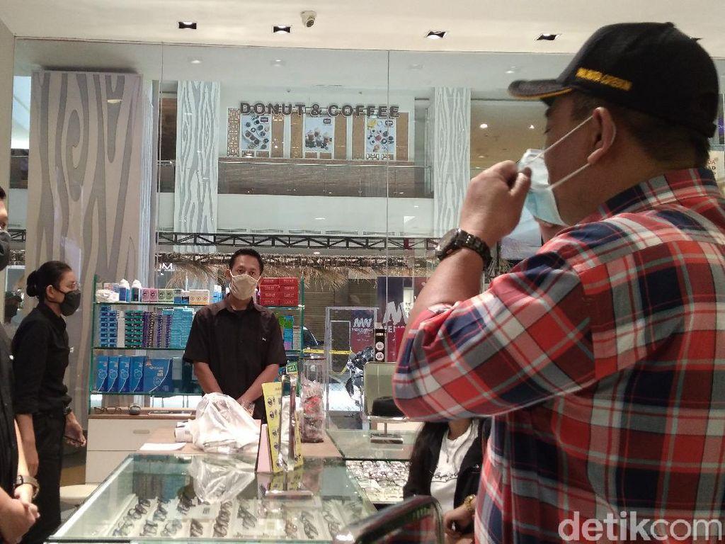 Walkot Cirebon Sidak Pertokoan-Pusat Perbelanjaan yang Beroperasi Saat PSBB