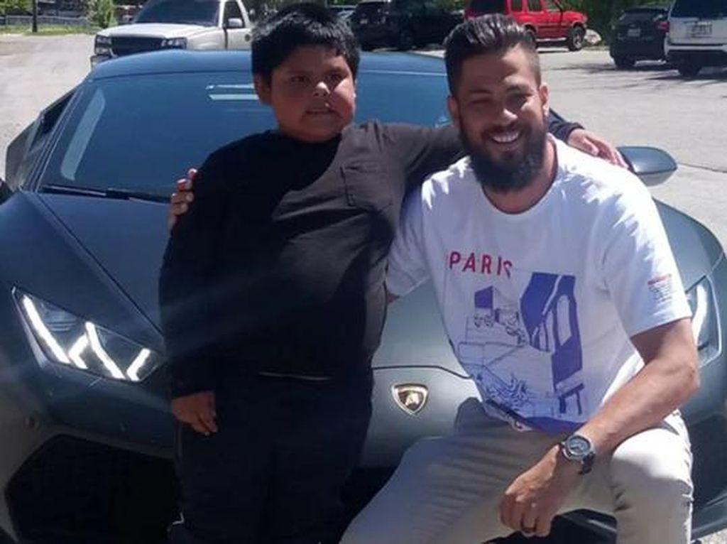 Bocah 5 Tahun yang Kendarai Mobil di Tol Akhirnya Kesampaian Naik Lamborghini