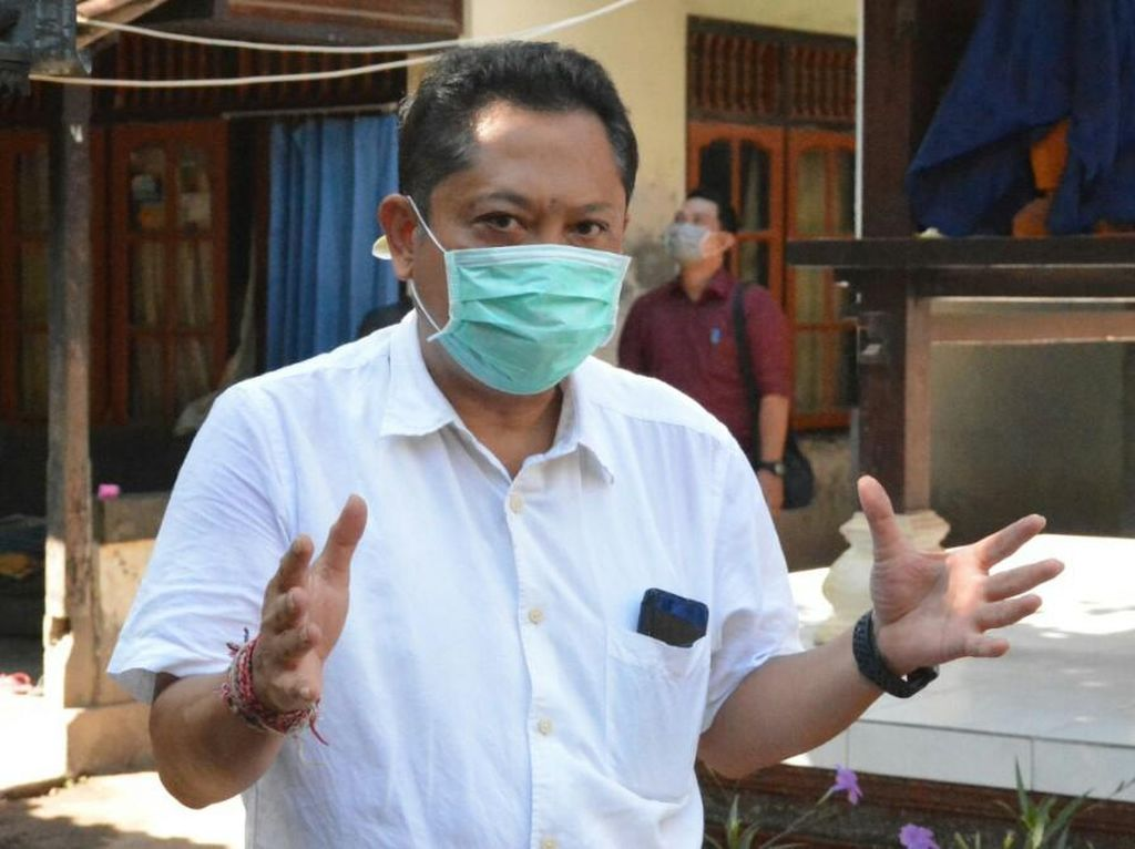 Walkot-Wawalkot Denpasar Sempat Positif COVID, Tak Ikut Divaksin Pertama