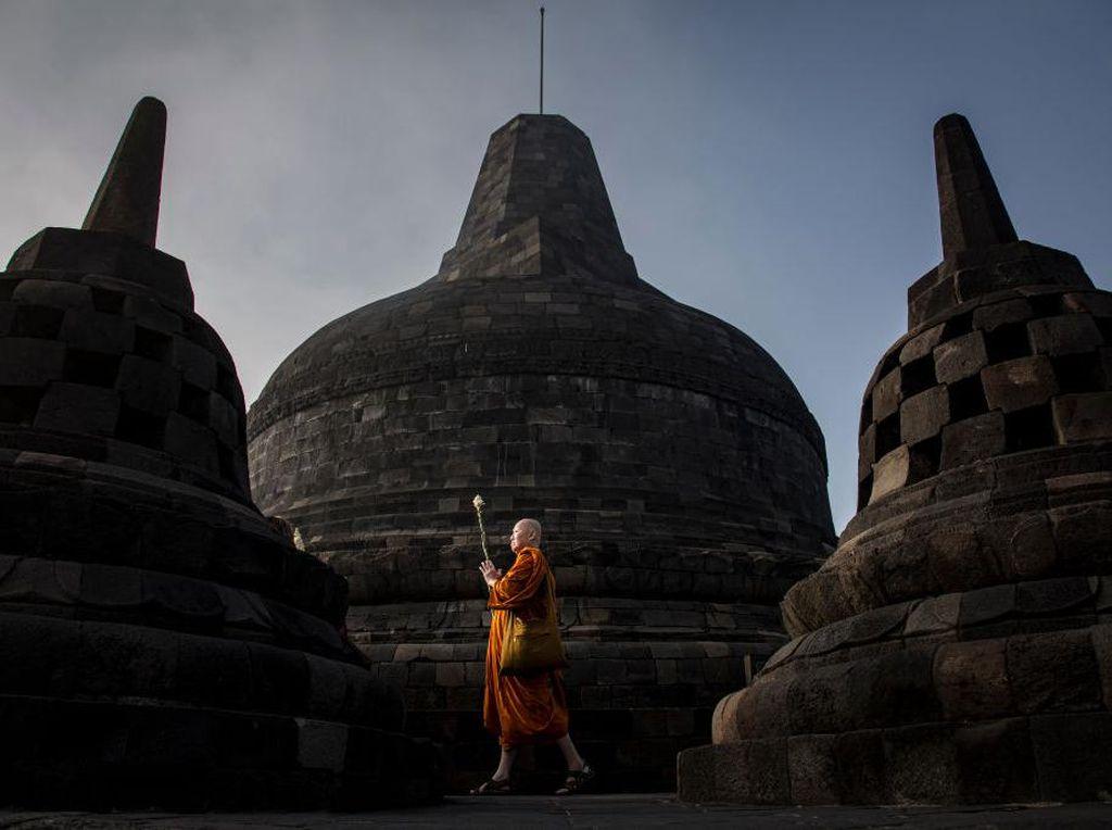 Melihat Kembali Perayaan Waisak 2019 di Borobudur