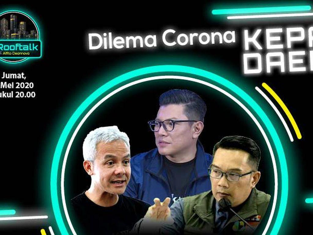 dRooftalk: Dilema Corona Kepala Daerah