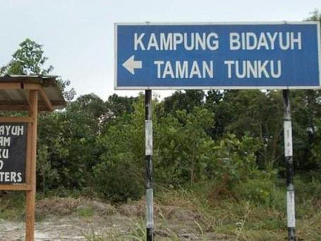 Singgah di Kampung Dayak Malaysia
