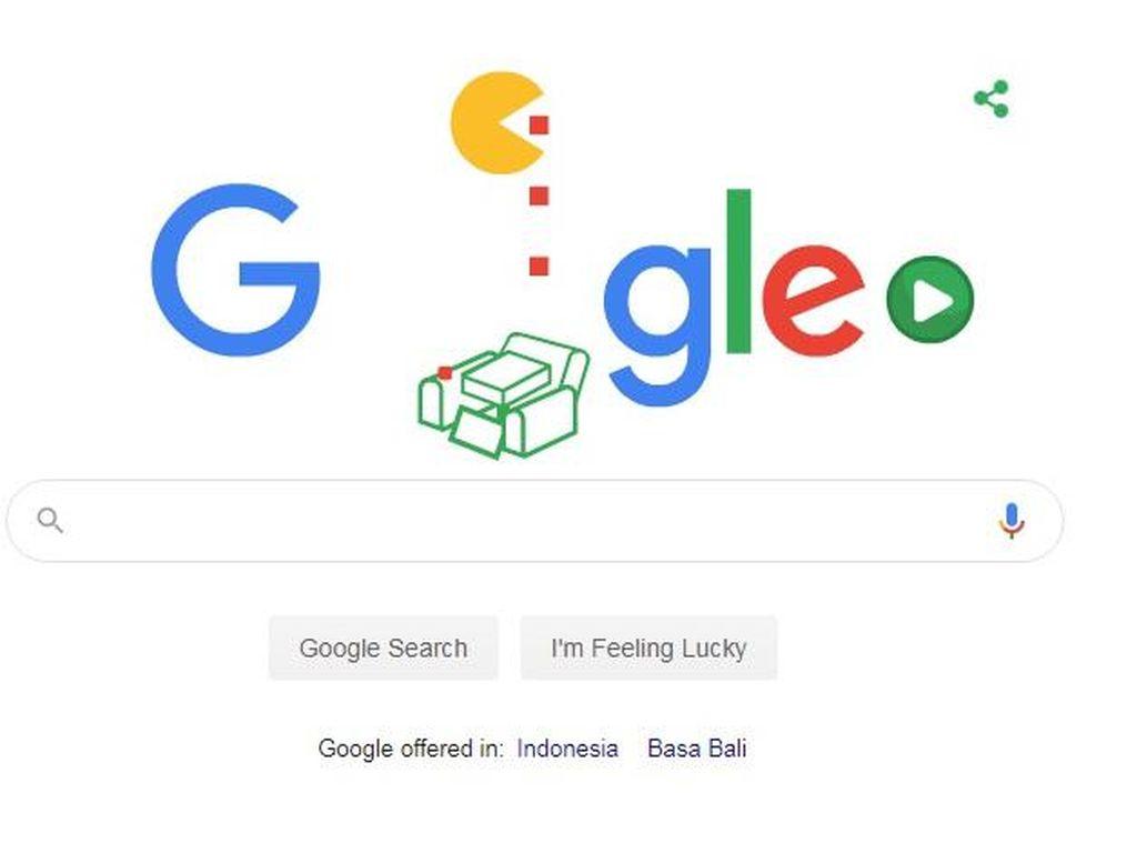 Google Doodle Populer Hadirkan Pac Man, Berikut Faktanya