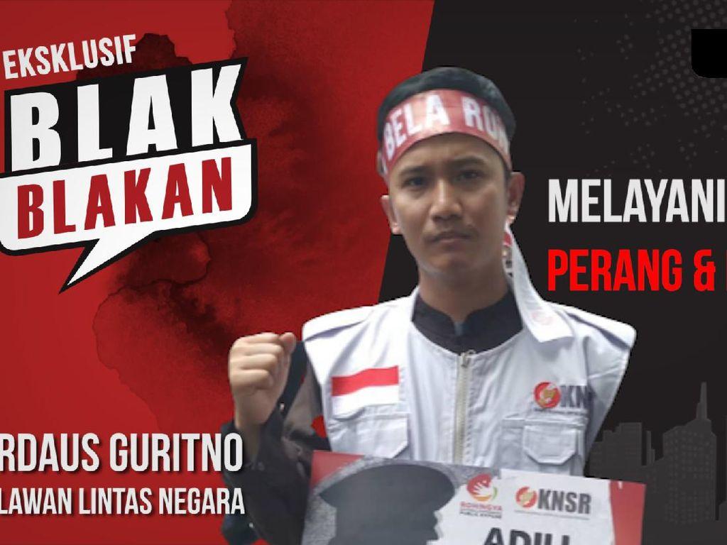 Blak-blakan Relawan Perang dan Bencana dari Indonesia