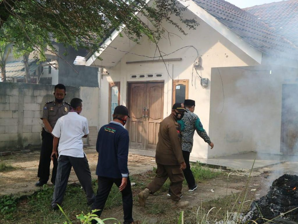 Terkuaknya Kuburan di Rumah Penganiaya Istri di Bogor