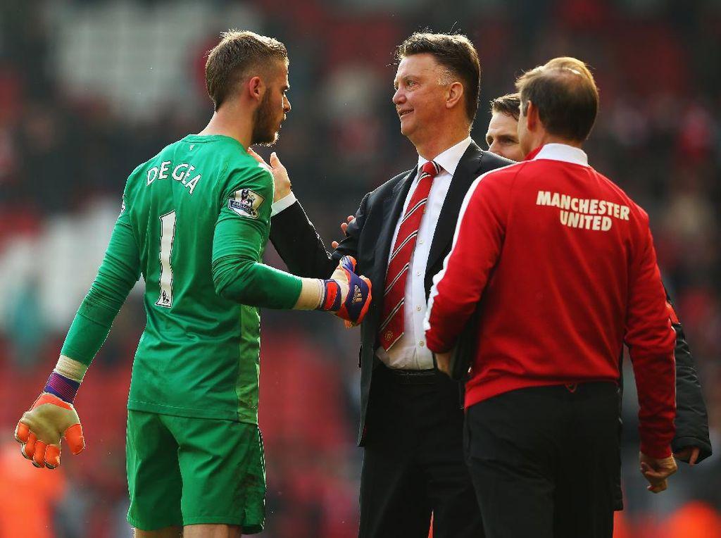 De Gea Hampir Tinggalkan Man United karena Van Gaal