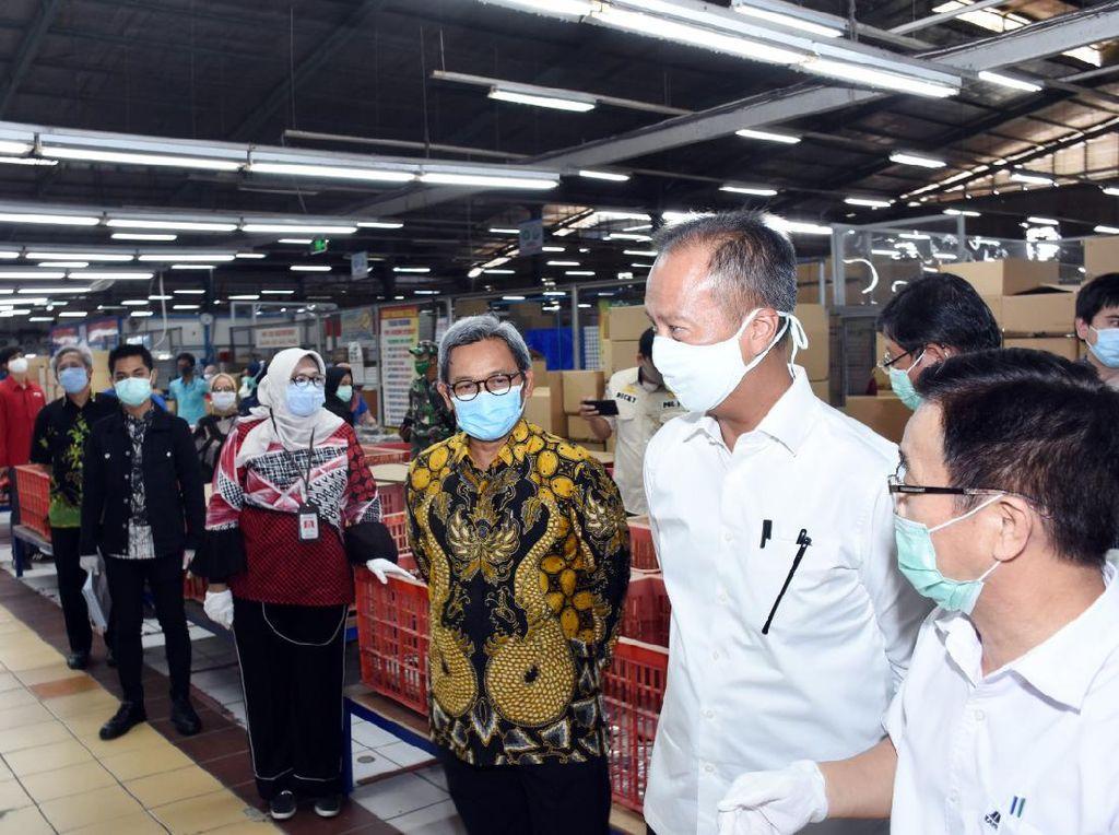Cek Industri Beroperasi Saat PSBB, Menperin Ingatkan Wajib Lapor