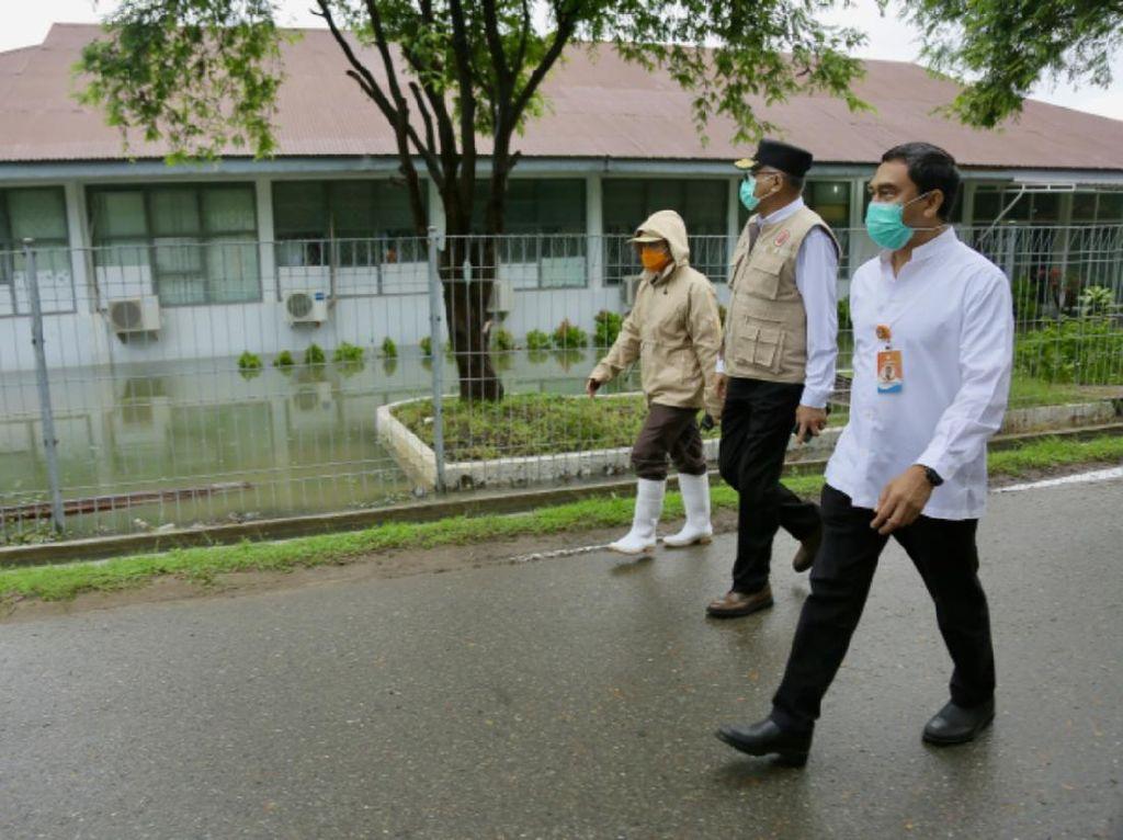 Pemprov Siapkan Hotel Isolasi PDP, Dipakai Jika Banjir RSUZA Aceh Makin Parah