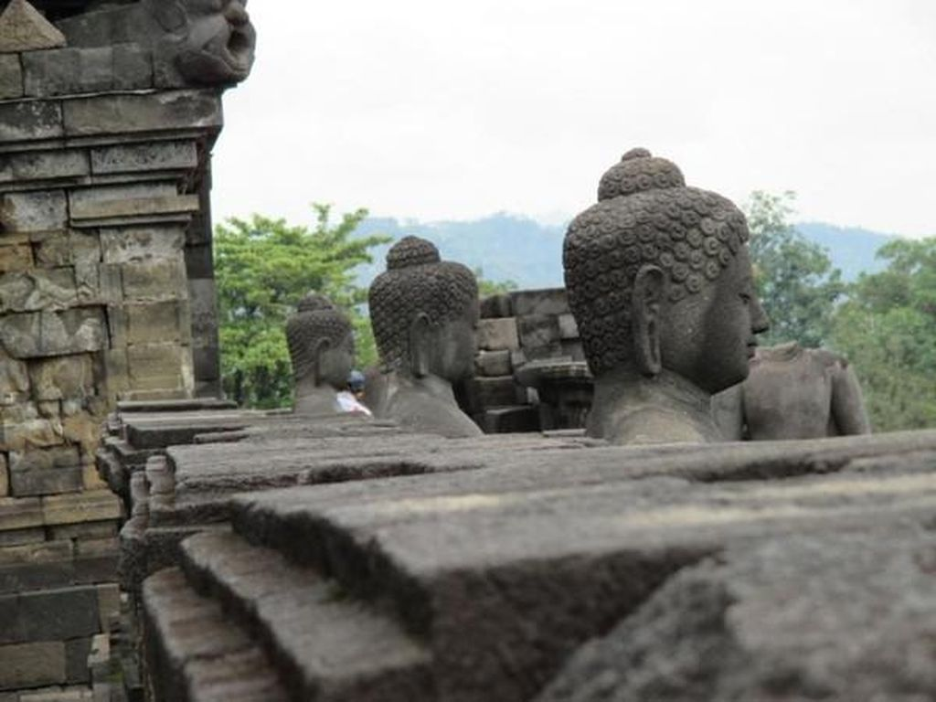Sunyi dan Hening, Kerinduan Atas Borobudur di Saat Pandemi