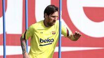 Intip Latihan Perdana Barcelona di Tengah Wabah Corona