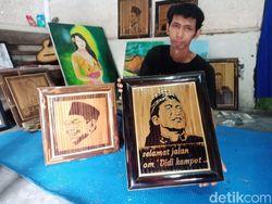 Seorang Sobat Ambyar di Jombang Kenang Didi Kempot dengan Karya