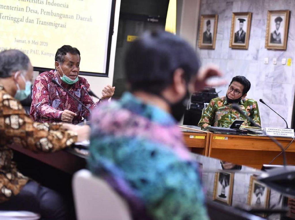Temui Rektor UI, Mendes Diskusi Skala Prioritas Pembangunan Desa