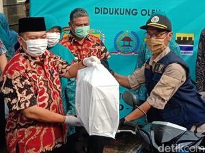 Ribuan Nasi Boks Dibagikan Pemkot Bandung Setiap Akhir Pekan