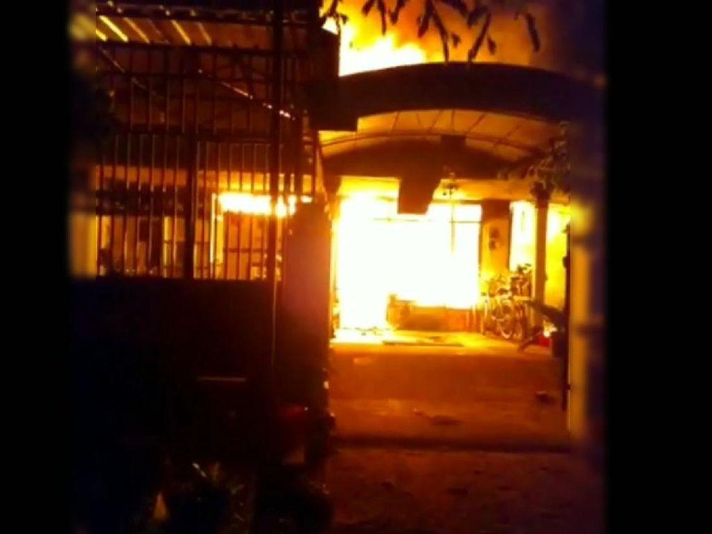 Rumah Warga di Tulungagung Terbakar, Kerugian Ditaksir Rp 500 Juta