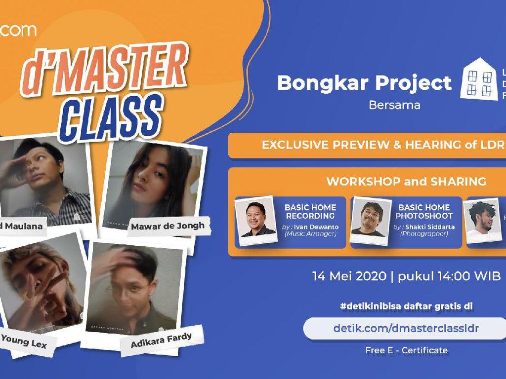 Tonton Sekarang! dMaster Class Musik di Rumah Pakai Alat Seadanya!