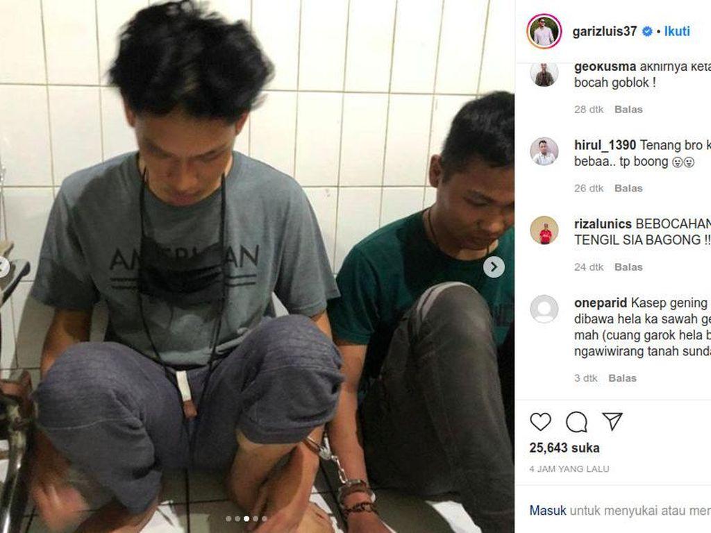 Ferdian Paleka Bersama Paman dan Teman Saat Ditangkap Polisi