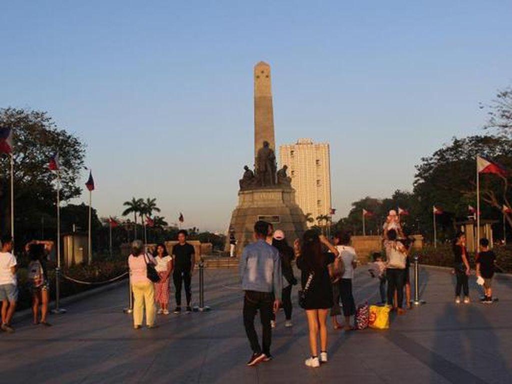 Di Taman Ini Pahlawan Filipina Dieksekusi