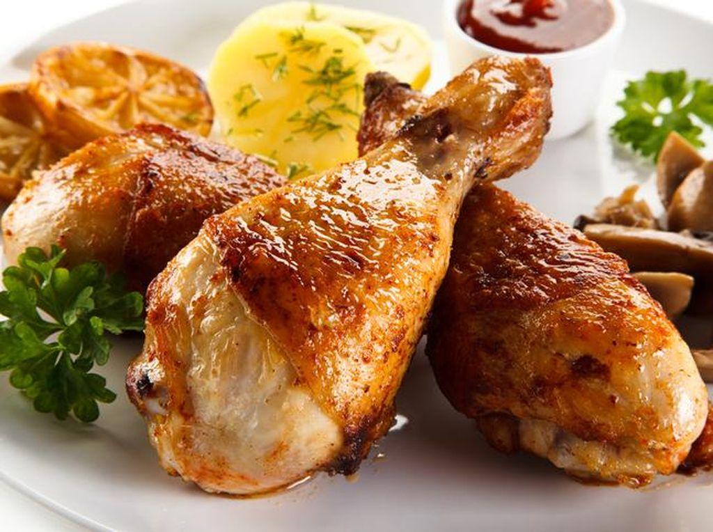 Resep Ayam Panggang Kecap yang Praktis dan Lezat