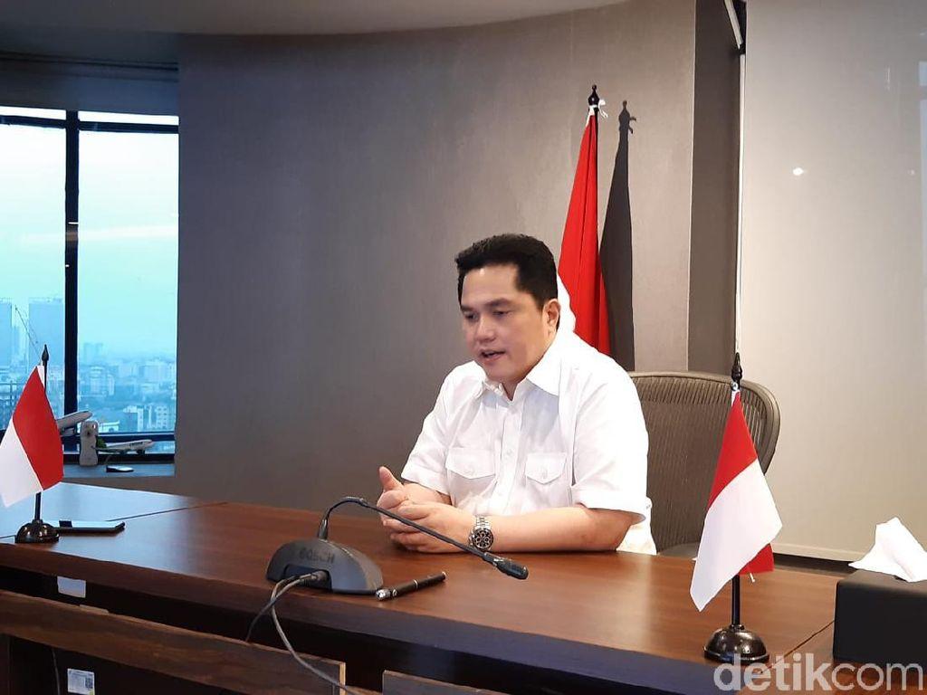 Erick Thohir Rombak Direksi dan Komisaris Bukit Asam